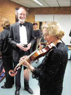 Janet Hicks - Lead Violin