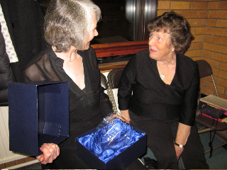 Jan Leak and Ann Parkhouse